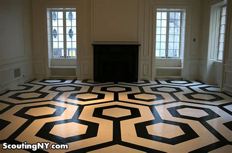 The Shining Floor by Finding The Shining In New York City Scouting Ny