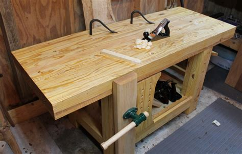 carters roubo style workbench  wood whisperer