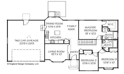 simple ranch floor plans simple ranch house plan unique ranch house plans simple
