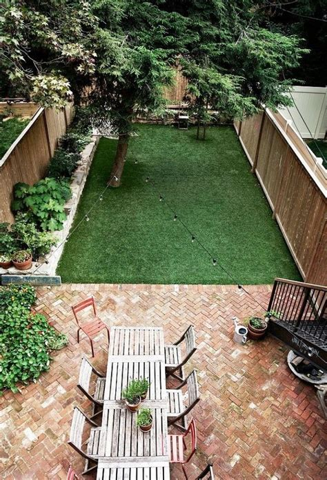 ideas for small backyard best 25 small backyard patio ideas on back