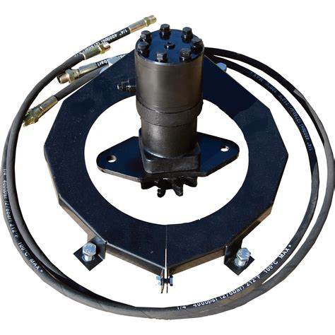 snowblower motor nortrac hydraulic chute rotation motor for 3 pt snow