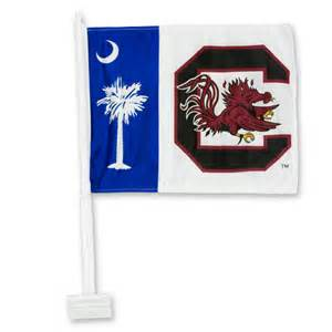 gamecock colors south carolina gamecock palmetto car flag