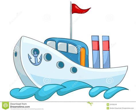 dessin animé bateau bateau de dessin anim 233 images stock image 23105244