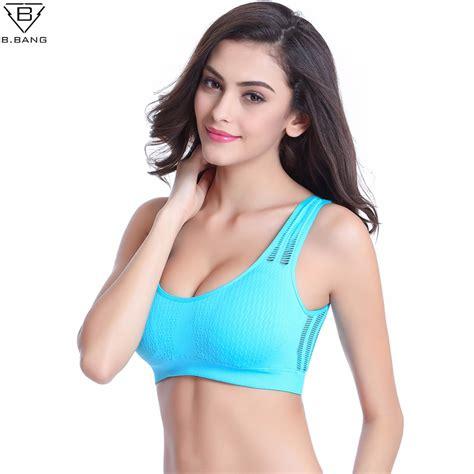 Promo Bra Sport Push Up Bra Wanita U Shape 1 b hollow out sports bra mesh push up sport bra fitness vest bra workout running