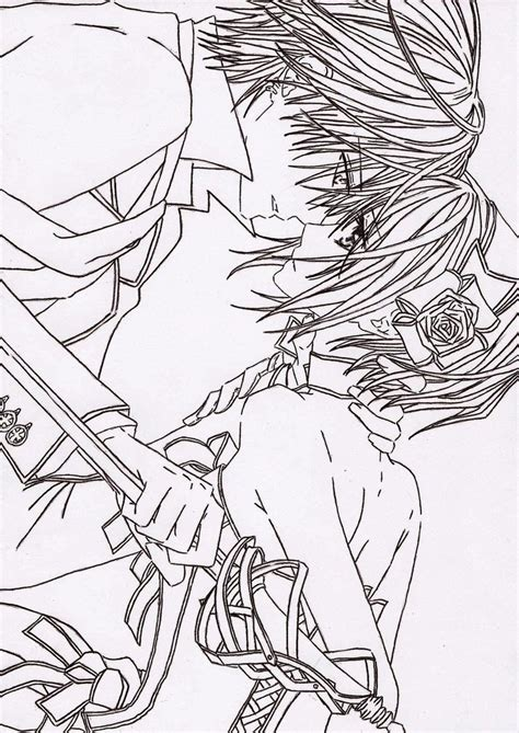 anime coloring pages vire knight the gallery for gt anime vire knight coloring pages