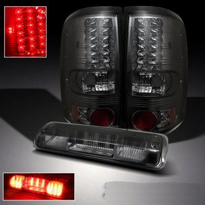 ford f150 2004 2008 smoked led lights and led third