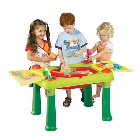 wasserspielzeug garten keter kinder wassertisch spieltisch sandkasten