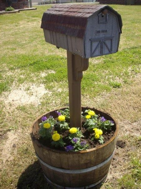 17 best images about mailbox planters on pinterest