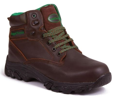 Rugged Footwear by Rugged Terrain Waterproof Composite Safety Boots Rt1005