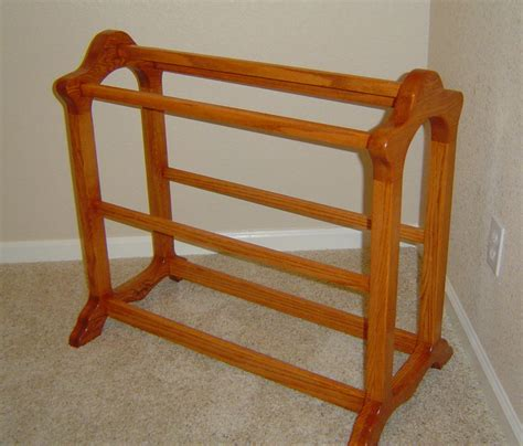 comforter rack brooks woodworks quilt rack