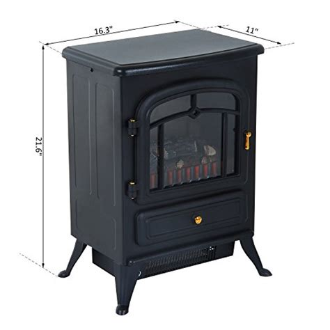 Cheap Electric Fireplace Heater by Fireplaces New Black 1500w Electric Fireplace Freestanding