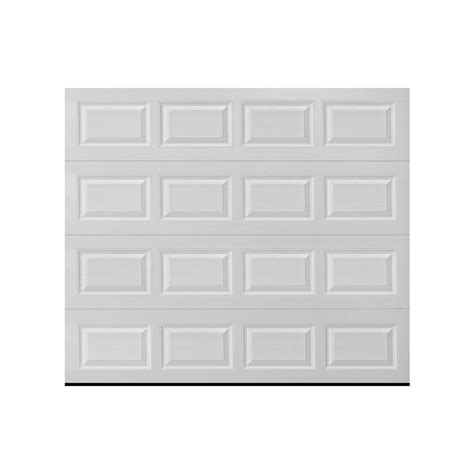 white garage doors reliabilt 99119557 white garage door lowe s canada