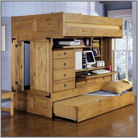 loft bed desk wood loft bed with desk wood page home design