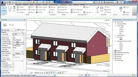 revit tutorial revit architecture 2014 tutorials for revit tutorials terraced houses design 6 revit