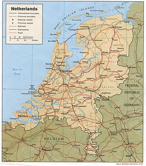 map of the netherlands travel agency netherlands map