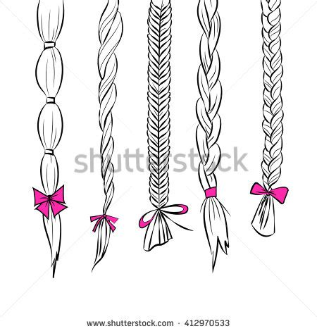 line art silhouette illustration set 5 stock vector