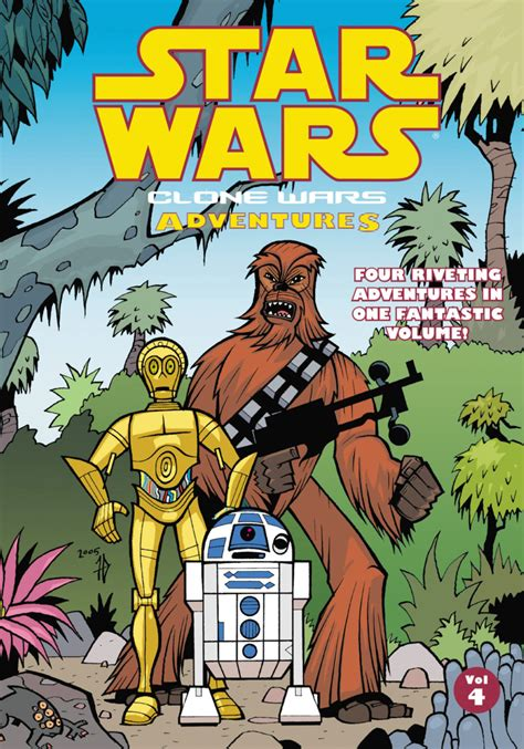 wars vol 6 out among the wars clone wars adventures 4 volume 4 issue