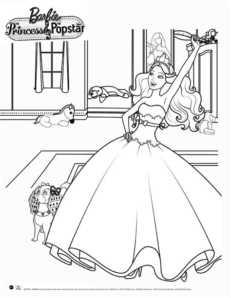 pop star coloring pages