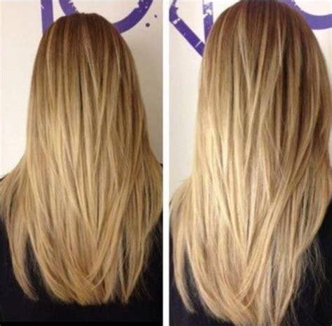 hair cut with a defined point in the back 18 tagli di alta moda per capelli lunghi lisci