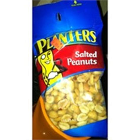 Planters Peanuts Nutrition Facts by Planters Salted Peanuts Calories Nutrition Analysis