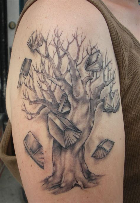 book tattoo design family tree tattoos designs ideas and meaning tattoos