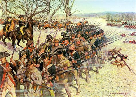 0030845335 the gold war the story battle of guilford courthouse painting and story