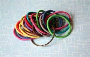 being creative to keep my sanity elastic hair band holder
