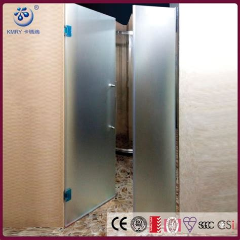 Shower Door U Channel The Best Custom Frameless Alcove Pivot Shower Door With U Channel Frosted Glass Bright Chrome