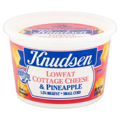 free cottage cheese free cottage cheese with pineapple nutrition
