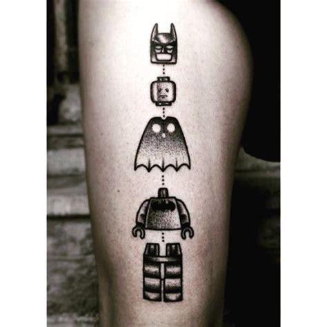tattoo lego batman 17 best ideas about batman tattoo on pinterest batman