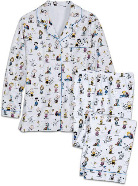 Piyama Snoopy White snoopy classic peanuts pajamas at the vermont country store