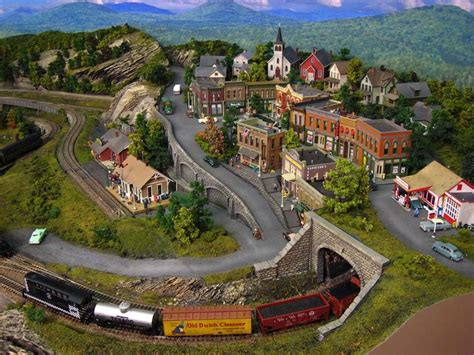 model train layout new jersey this is our 10 4 quot x 10 ho gauge scale realistic fantasy