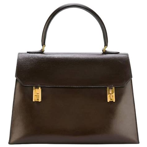 Handmade Handbags For Sale - hermes tropez rarity vintage handbag 1967 at 1stdibs