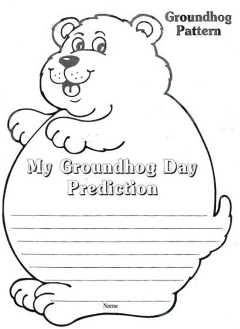 groundhog day sheet browse all free printable worksheets