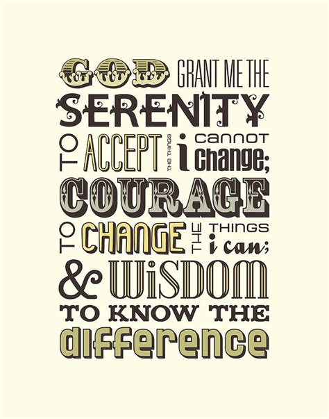 serenity prayer digital art by megan romo