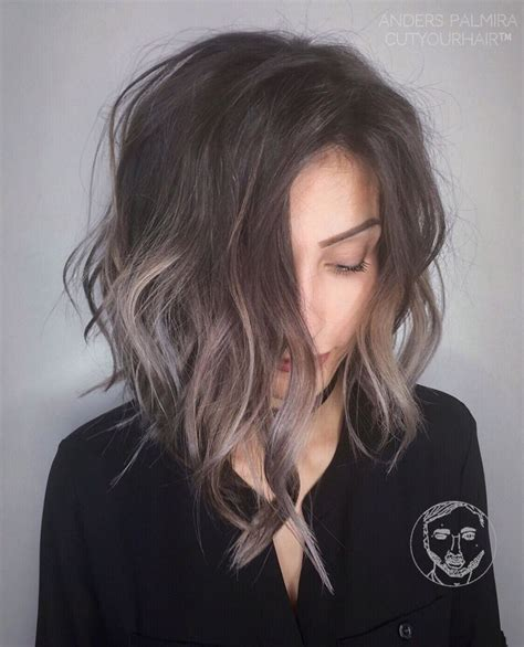 subtle ombre hair with soft waves medium ash brown hair best 20 short gray hair ideas on pinterest