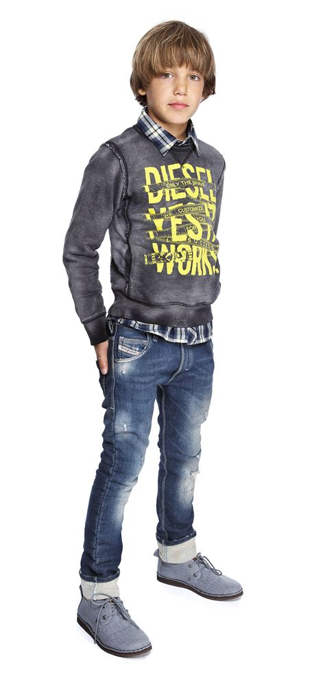 boys fashion diesel collection cool casual look little fashion