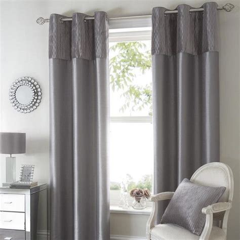 silver bedroom curtains silver opulence curtain collection dunelm decoration