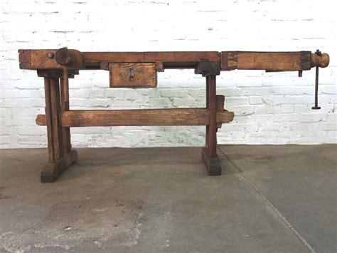 vintage möbel kaufen vintage werkbank alte aufgearbeitete werkbank jetzt kaufen