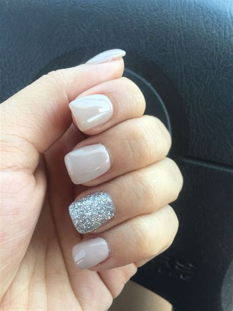 All Nail by And Silver Glitter Nails Nails Silver