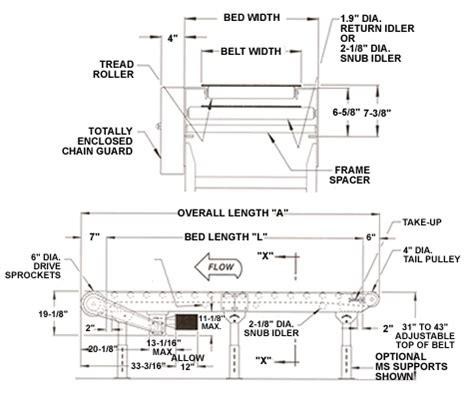 Design Criteria For Belt Conveyor | conveyor belt design drawing