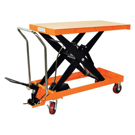 hydraulic scissor lift table hydraulic scissor lift table cart 2200 lb tf100d