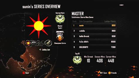 league play overview call of duty world league masters rank 1 chions division black ops 2 youtube