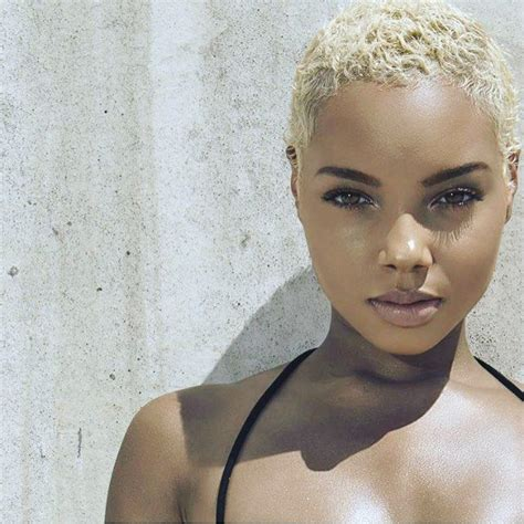 Black Female Models With Short Hair | 733 best images about mohawk in short sassy on pinterest