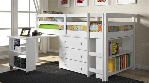 Loft Bed With Desk Underneath by Bedroom Bunk Beds With Desk Underneath For Children
