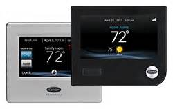 Carrier Infinity Touch Access Your Thermostat Carrier Residential