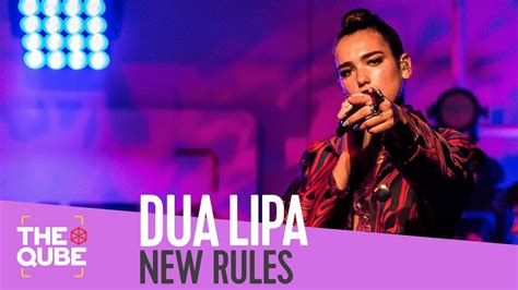 dua lipa new rules live dua lipa new rules live in the qube youtube