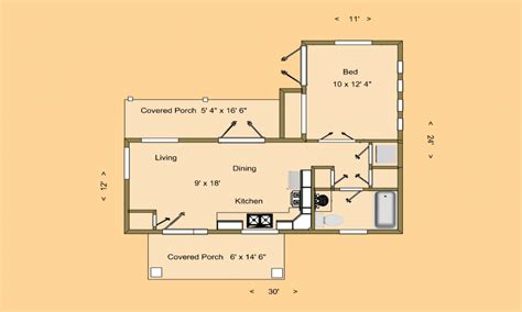 Small House Plans by Small House Plans Small House Floor Plans 500