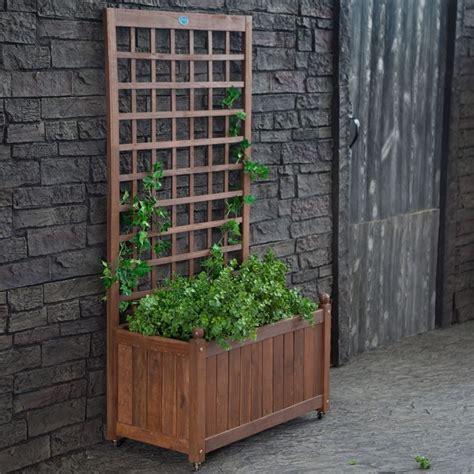 giardino balcone grigliati in legno per balcone grigliati per giardino