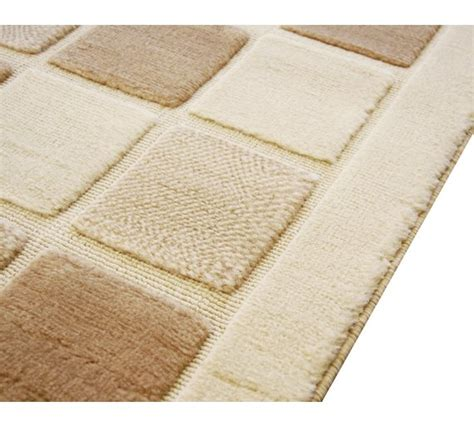 argos rugs large rugs buy verona blocks rug 60x110cm at argos co uk your shop for rugs and mats
